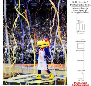 "University of Kansas Jayhawks 2008 NCAA Champs Photo Print 18"" x 24"""