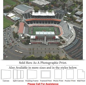 "Oregon State University Football Reser Stadium-4 Photo Print 24"" x 18"""