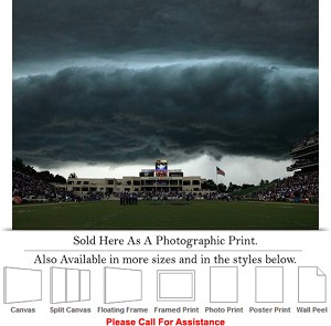 "Kansas State University Snyder Family Stadium Photo Print 24"" x 18"""