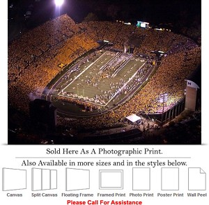 "University of Missouri Memorial Stadium Football-2 Photo Print 24"" x 18"""
