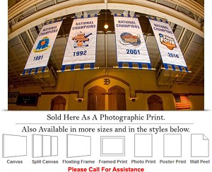 "Duke University College Basketball NCAA Champions Photo Print 24"" x 14"""