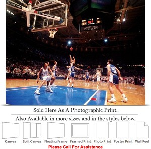"Duke University Versus Kentucky 1992 Basketball Photo Print 24"" x 18"""