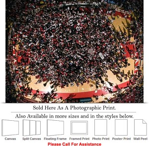 "University of Maryland Basketball Team Beats UNC Photo Print 24"" x 18"""