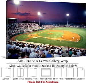 "Mississippi State University at Dudy Noble Field Canvas Wrap 30"" x 20"""