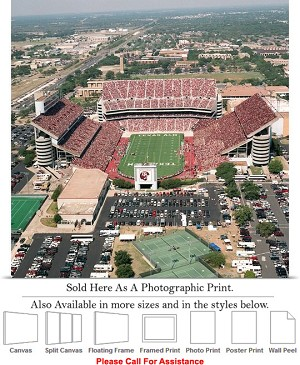 "Texas A&M University Kyle Field Football Stadium-2 Photo Print 16"" x 16"""