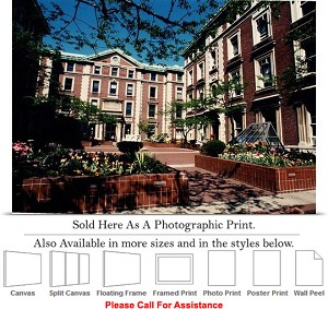 "Columbia University Schermerhorn Hall in Spring Photo Print 24"" x 17"""