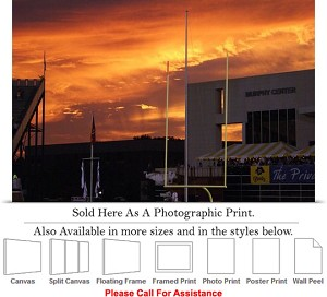 "East Carolina University Dowdy Ficklen Stadium Photo Print 24"" x 16"""