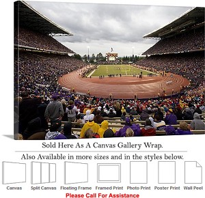 "University of Washington Packed in Husky Stadium Canvas Wrap 30"" x 20"""