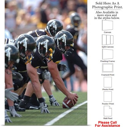"Appalachian State University Mountaineer Line Photo Print 16"" x 24"""