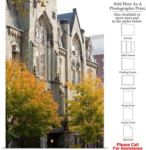 "University of Pennsylvania Campus at College Hall Photo Print 16"" x 24"""