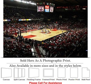 "University of Louisville Freedom Hall Basketball Photo Print 24"" x 16"""