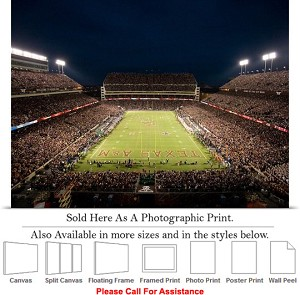 "Texas A&M University Kyle Field Football Stadium Photo Print 24"" x 16"""