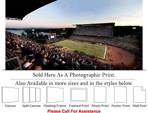 "University of Washington Band Spells Out Huskies Photo Print 30"" x 14"""