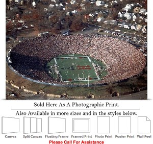 "Yale University College Football at The Yale Bowl Photo Print 24"" x 17"""