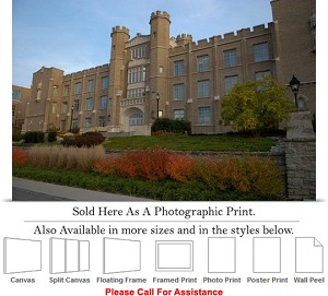 "Xavier University College Campus at Hinkle Hall Photo Print 24"" x 16"""