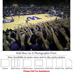 "University of Washington at Home Court for Huskies Photo Print 24"" x 18"""