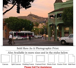 "Arizona State University View Downtown and Campus Photo Print 24"" x 16"""