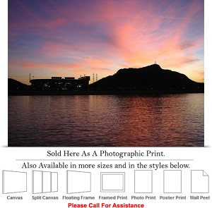 "Arizona State University at Sun Devil Stadium Photo Print 24"" x 17"""