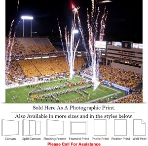 "Arizona State University Here Comes the Sun Devils Photo Print 24"" x 18"""