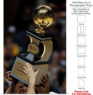 "Purdue University Big Ten Trophy for Boilermakers Photo Print 16"" x 24"""
