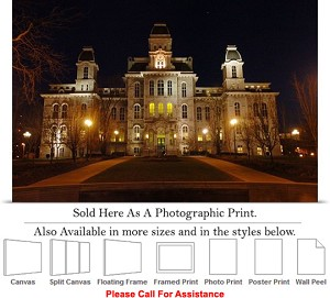 "Syracuse University College at Hall of Languages Photo Print 24"" x 16"""