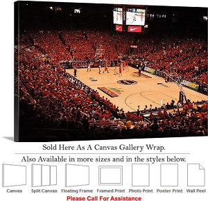 "University of Arizona Red Out Basketball Game Canvas Wrap 30"" x 20"""