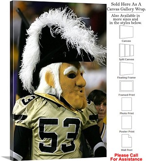 "Vanderbilt University College Mascot Mr. C Sports Canvas Wrap 20"" x 30"""