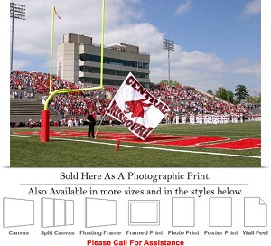 "University of Central Missouri Walton Stadium Photo Print 24"" x 16"""