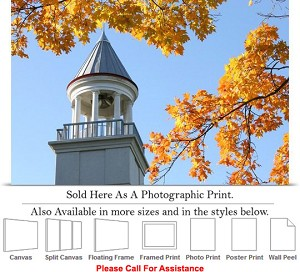 "University of Central Missouri Friendship Tower Photo Print 24"" x 16"""