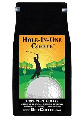 Hole In One Gift Coffee,  12 Ounce Bag of Gourmet Coffee