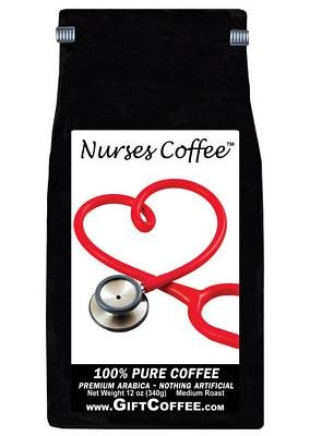 Nurses Gift Coffee,  12 Ounce Bag of Gourmet Coffee