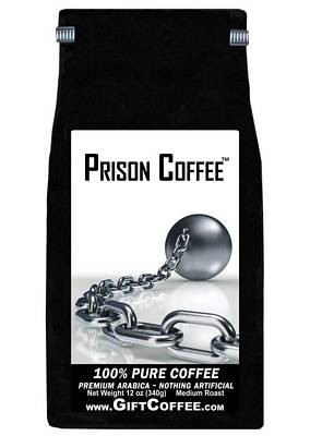 Prison Gift Coffee,  12 Ounce Bag of Gourmet Coffee