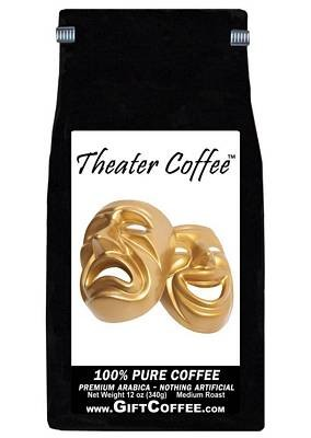 Theater Gift Coffee, 12 Ounce Bag of Gourmet Coffee