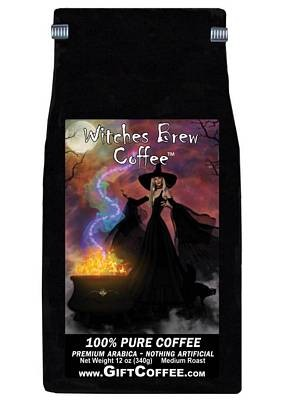 Witches Brew Gift Coffee,  12 Ounce Bag of Gourmet Coffee