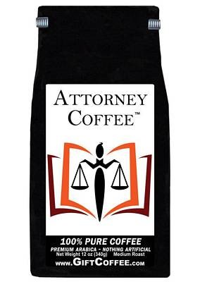 Attorney Gift Coffee, 12 Ounce Bag of Gourmet Coffee