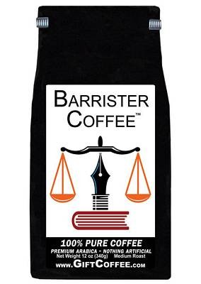 Barrister  Gift Coffee, 12 Ounce Bag of Gourmet Coffee