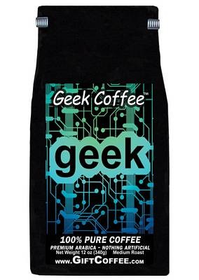 Geek Gift Coffee, 12 Ounce Bag of Gourmet Coffee