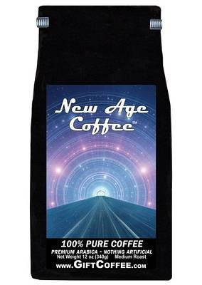New Age Gift Coffee, 12 Ounce Bag of Gourmet Coffee