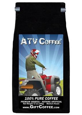 ATV Gift Coffee, 12 Ounce Bag of Gourmet Coffee