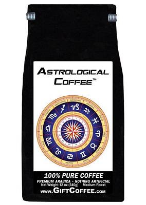 Astrological Gift Coffee, 12 Ounce Bag of Gourmet Coffee