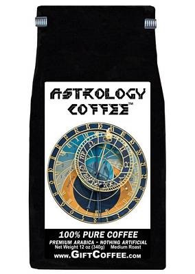 Astrology Gift Coffee, 12 Ounce Bag of Gourmet Coffee