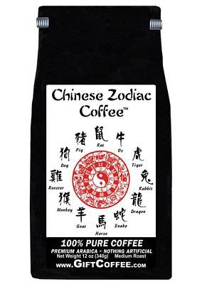 Chinese Zodiac Gift Coffee, 12 Ounce Bag of Gourmet Coffee