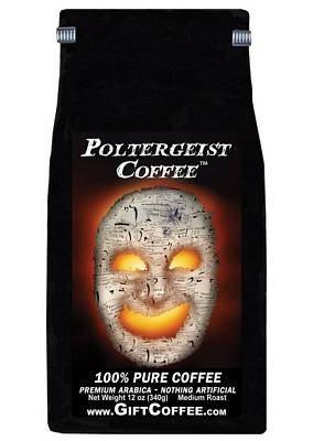 Poltergeist Gift Coffee, 12 Ounce Bag of Gourmet Coffee