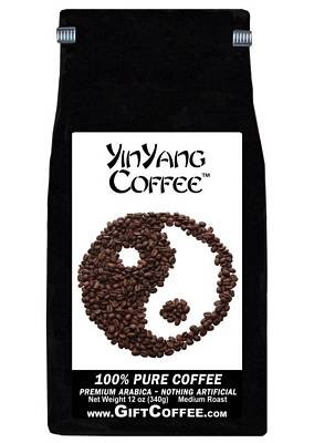 Yinyang Gift Coffee, 12 Ounce Bag of Gourmet Coffee