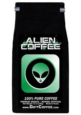 Alien Gift Coffee, 12 Ounce Bag of Gourmet Coffee