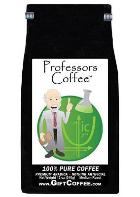 Professors Gift Coffee, 12 Ounce Bag of Gourmet Coffee
