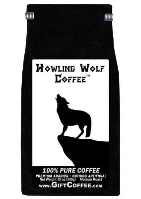 Howling Wolf Gift Coffee, 12 Ounce Bag of Gourmet Coffee