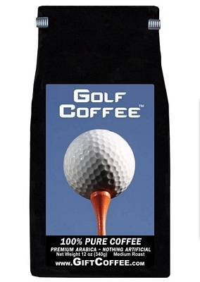 Golf Gift Coffee, 12 Ounce Bag of Gourmet Coffee