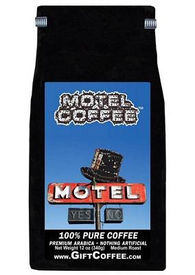 Motel Gift Coffee, 12 Ounce Bag of Gourmet Coffee