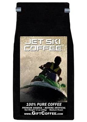 Jet Ski Gift Coffee, 12 Ounce Bag of Gourmet Coffee